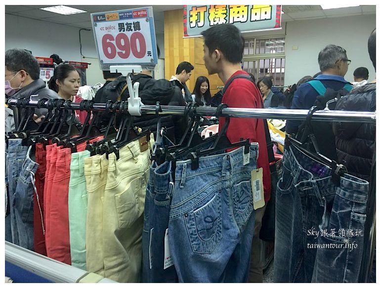 五股工業區特賣會鬼洗BW帝藏小王箱子牛仔褲56