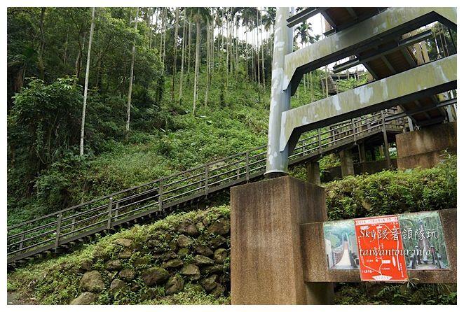 古坑華山小天梯情人橋鋼管壩00679