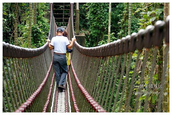 古坑華山小天梯情人橋鋼管壩00744