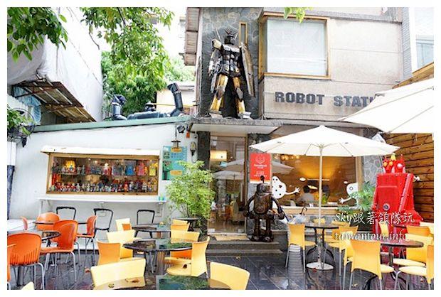 台中綠園道機器人主題餐廳鐵皮駛94927