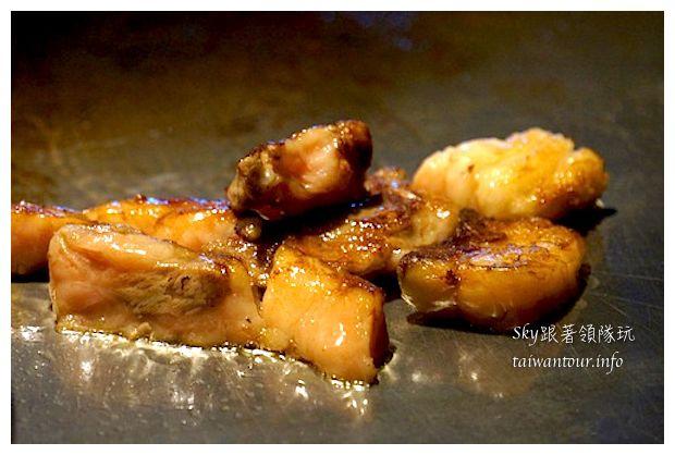 台中綠美食推薦凱焱頂級鐵板燒8481