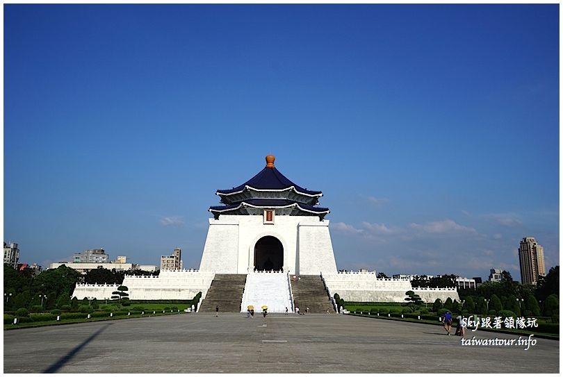 台北景點推薦中正紀念堂自由廣場DSC01777