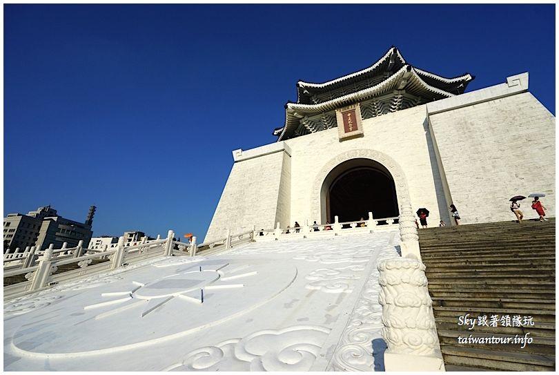 台北景點推薦中正紀念堂自由廣場DSC01836