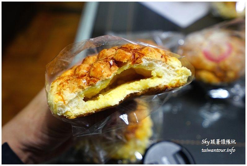 淡水美食推薦廣泰香菠蘿麵包DSC04773