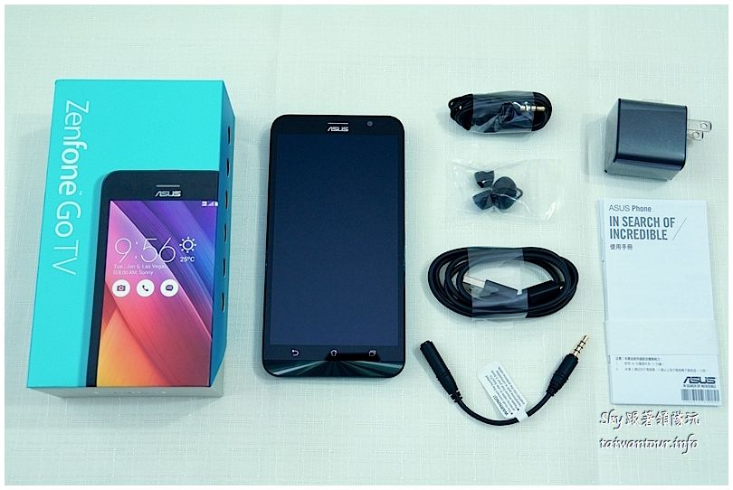 華碩手機zenfone go tvDSC05059