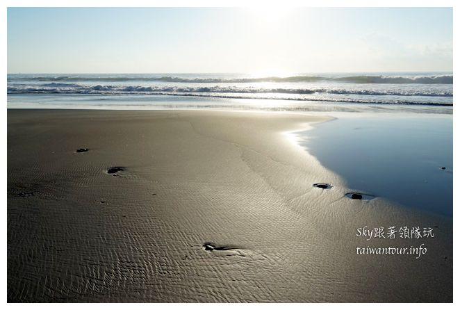 台東景點推薦【都歷沙灘】成功鎮部落.絕美的天空之鏡黃金沙灘