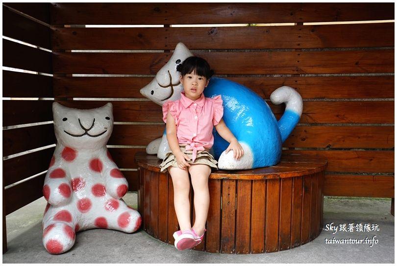 雲林景點推薦屋頂上的貓貓咪小學堂DSC07562