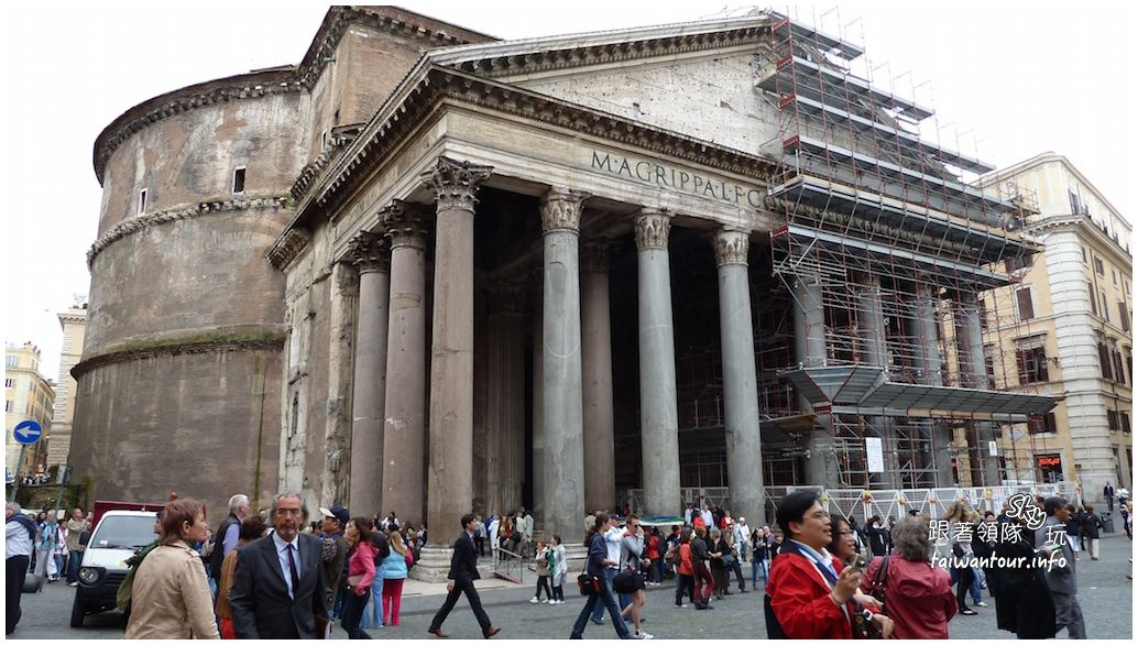 義大利景點-羅馬必走萬神殿(Pantheon)