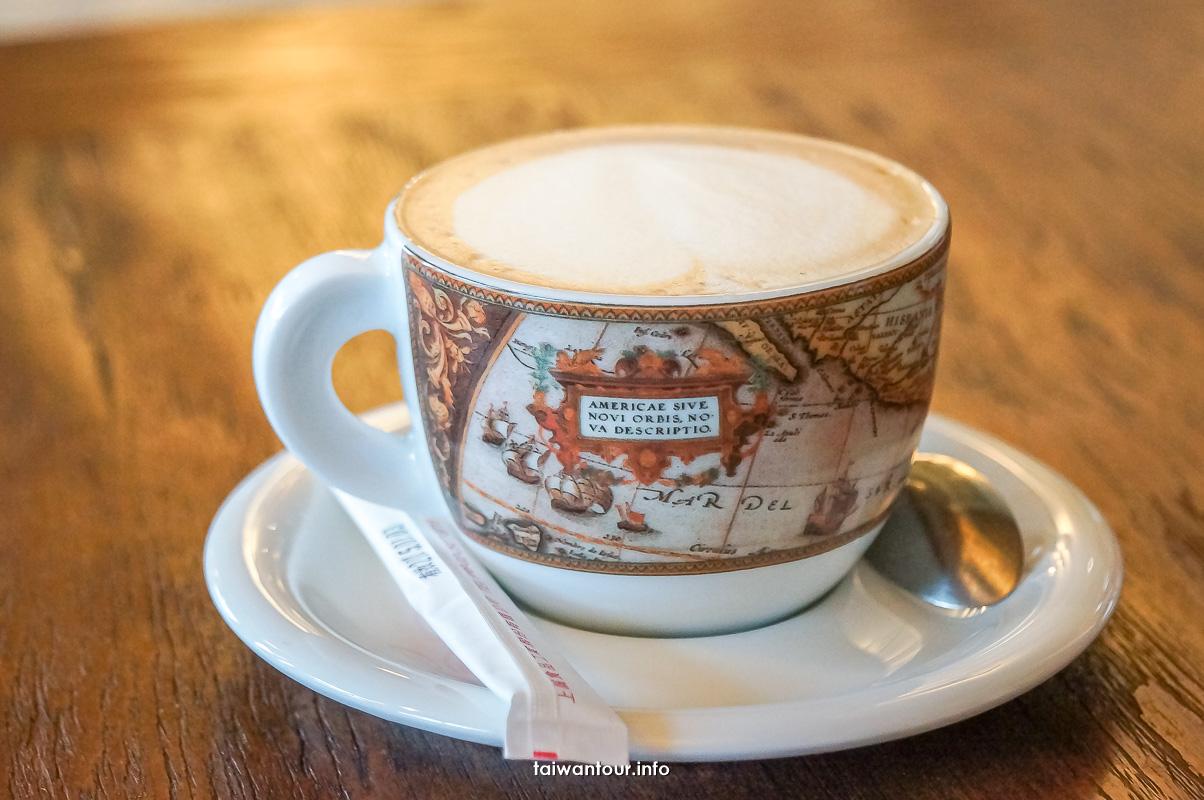 【龜吼藍藍海咖啡】萬里美食推薦龜吼漁港看海景(食尚玩家推薦)