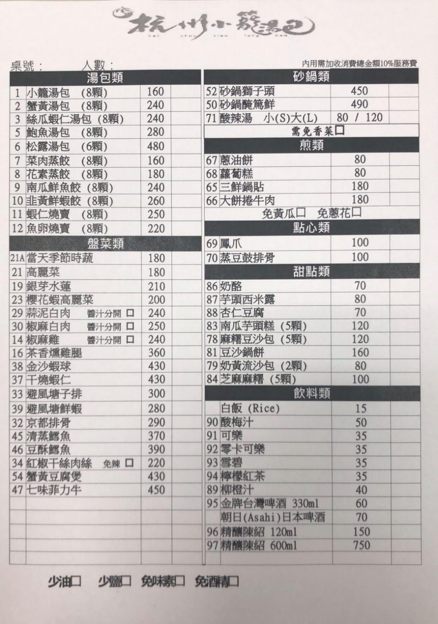 【杭州小籠湯包(民生東路店)】台北松山鮑魚.燕窩小籠包美食推薦