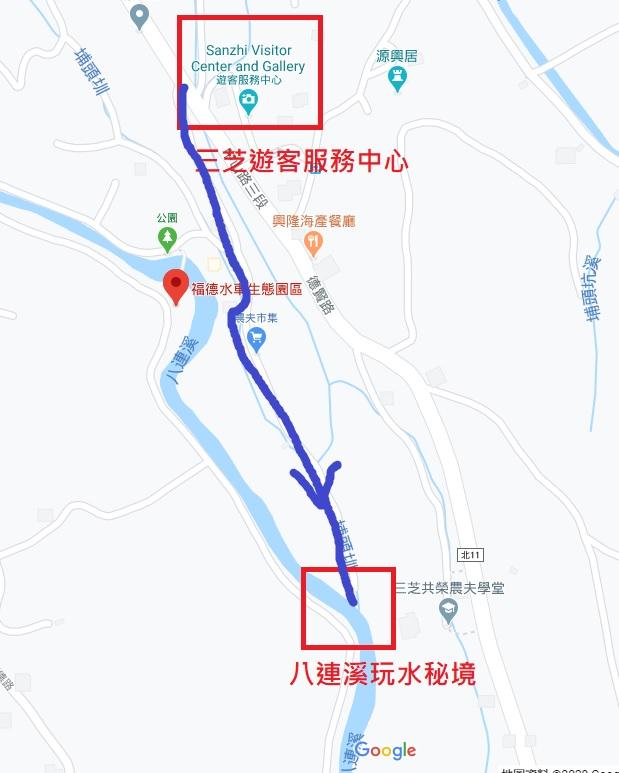 台北三芝私房景點【八連溪玩水秘境】親子半日遊推薦