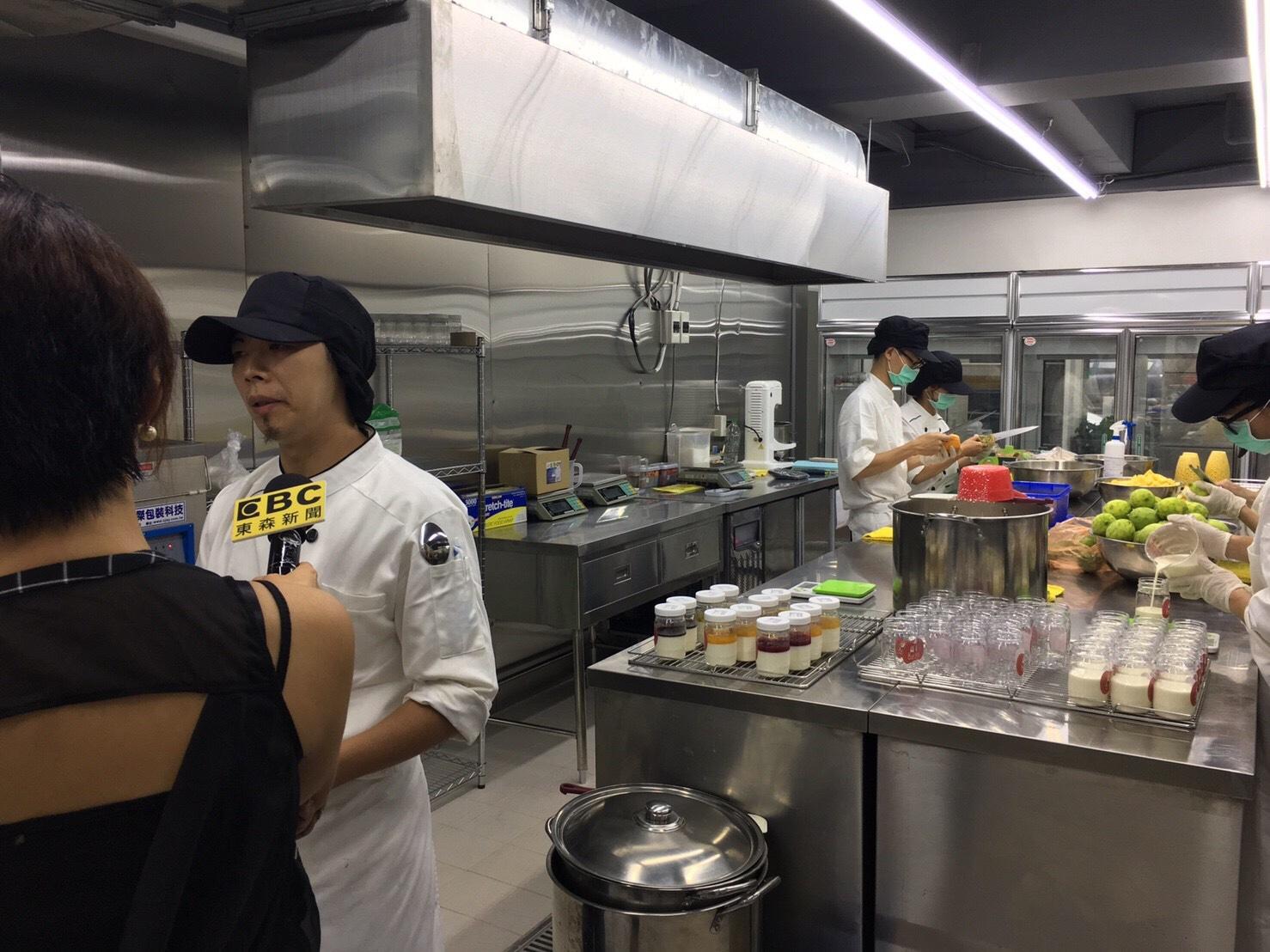 東森新聞採訪照片