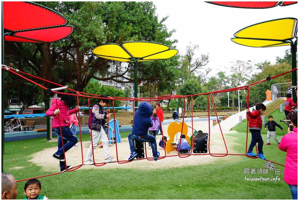 台北景點推薦-第一座兒童參與設計遊戲場【榮星花園公園】