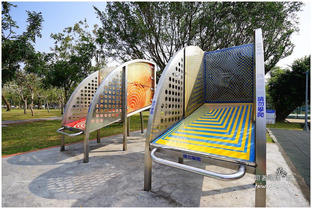 台北景點推薦【美崙公園】士林親子溜滑梯和科學玩具