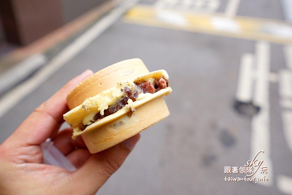 桃園美食推薦-龜山隱藏版林口長庚爆漿【紅豆餅】