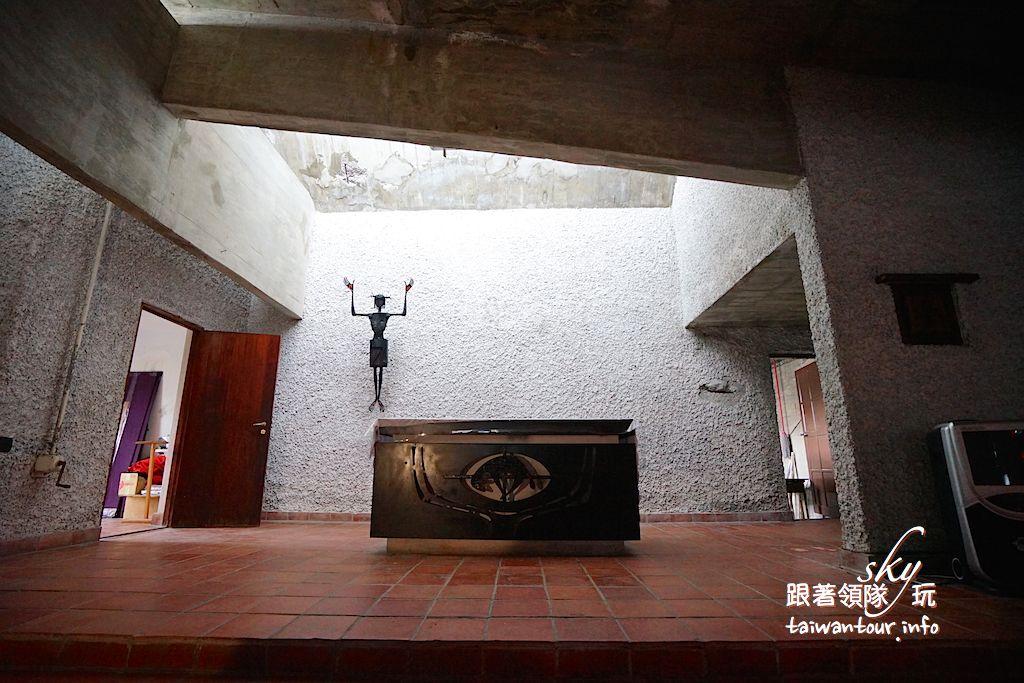 台東景點推薦【公東教堂(聖堂)】必訪清水模建築