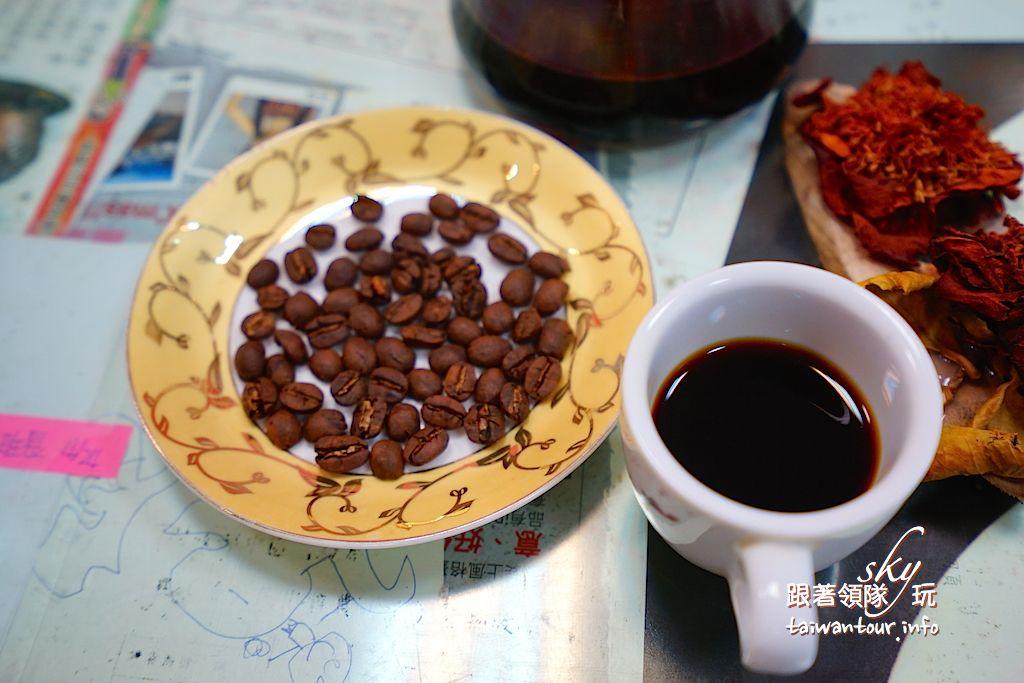 台中美食推薦【東香咖啡茶坊】東勢咖啡豆.殼.葉都好喝