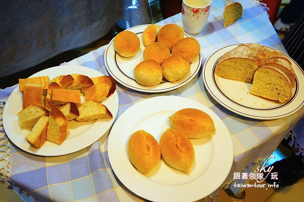 台中美食推薦【橄欖樹生活廚房麵包】東勢隱藏版老麵麵包