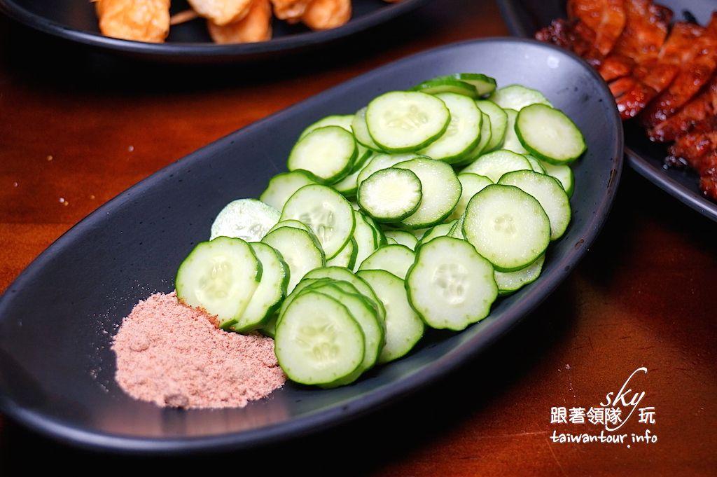 台北美食推薦-中山區水嫩多汁【老疆胡烤肉舖】