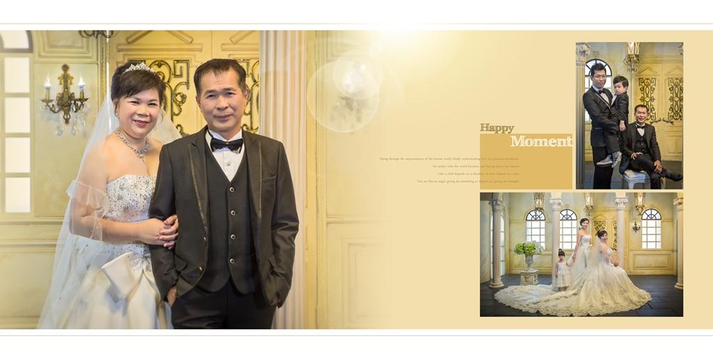 全家福婚紗-老爸老媽結婚40年周年【華納婚紗精品概念館】