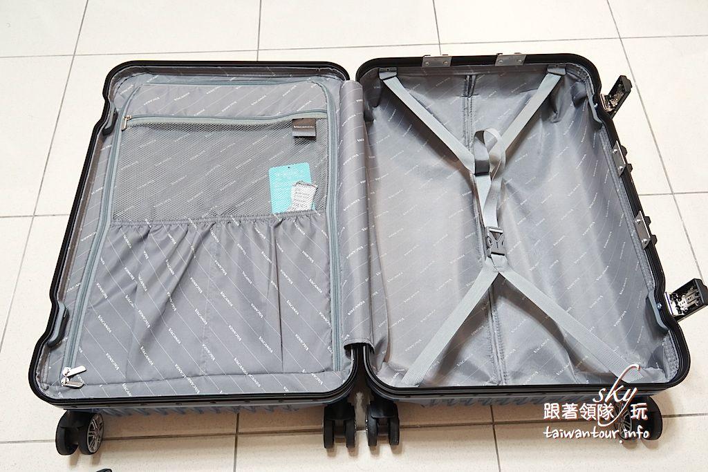 團購好物【時尚VACANZA鋁框硬殼行李箱】超輕.超滑.高CP值
