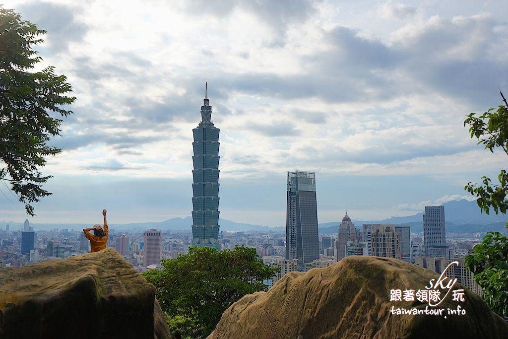 台北景點推薦-信義區一線天.大石壁【象山步道】