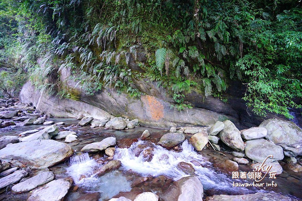 花蓮秘境景點推薦【時雨/彩虹瀑布】秀林秘境苗灣溪