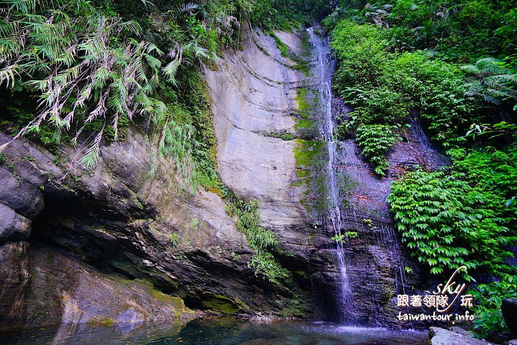 花蓮景點秀林秘境苗灣溪【時雨/彩虹瀑布】