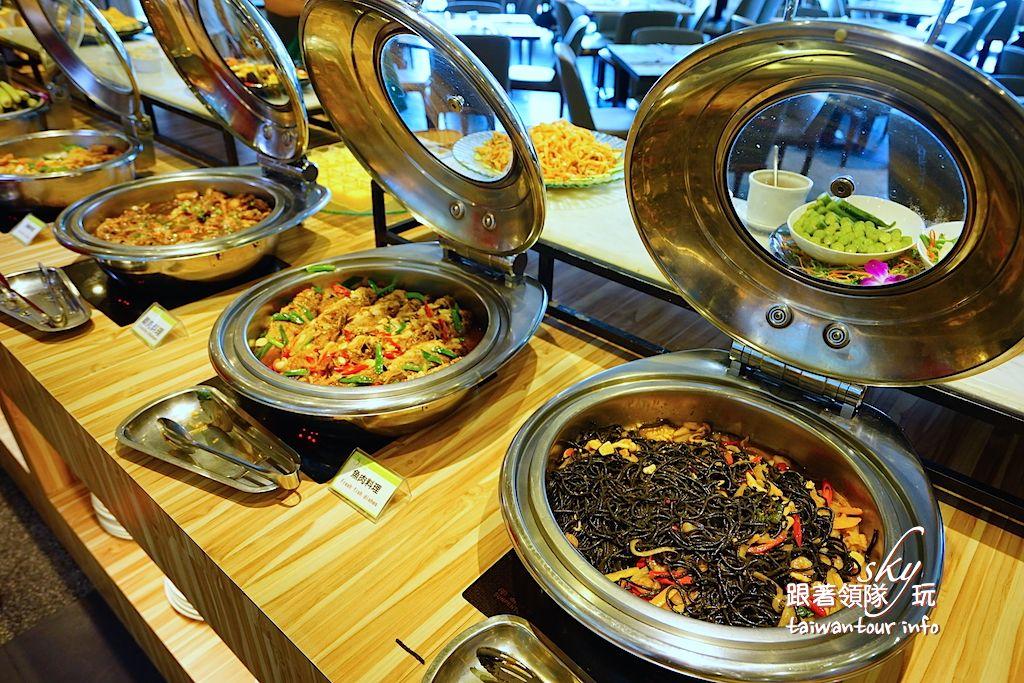 花蓮美食推薦【藍天麗池綠波廊Buffet】平價吃到飽餐廳