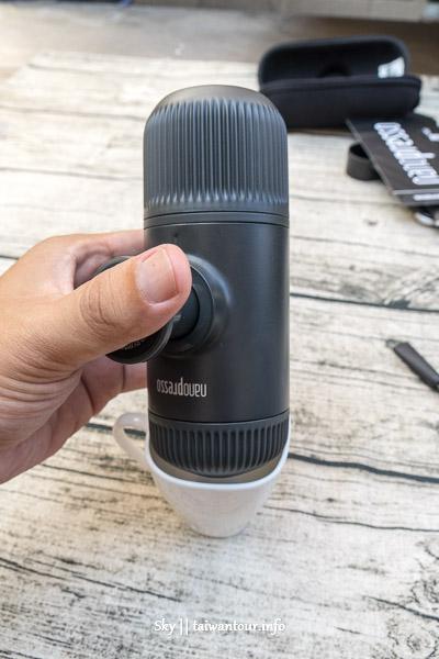 旅遊好物-我的隨身濃縮咖啡機【WACACO Nanopresso迷你濃縮咖啡機】