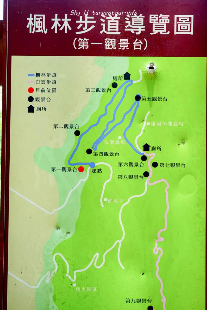 花蓮景點推薦-吉安鄉無敵景觀夜景【楓林步道】