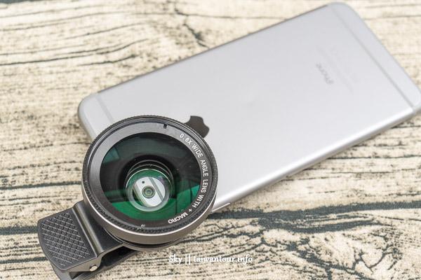 手機好物-專業手機鏡頭組【E-books N48 超大廣角0.6x】