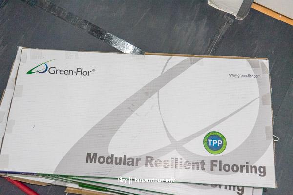 套房的華麗轉身歐美地板【富銘地板Green-Flor】