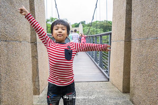 基隆景點推薦【情人湖公園】幼兒級步道親子旅遊