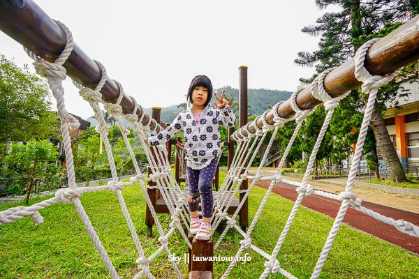 台北景點推薦-士林兒童版山訓設施【溪山國小】
