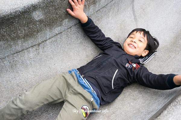 桃園景點推薦【溫州公園】親子最愛恐龍溜滑梯