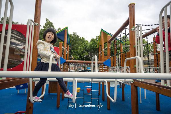 桃園景點推薦-創意溜滑梯親子旅遊【陽明社區公園】