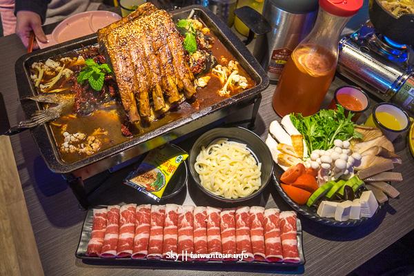 台中美食推薦-CP值爆表炭火烤魚【水貨烤魚】