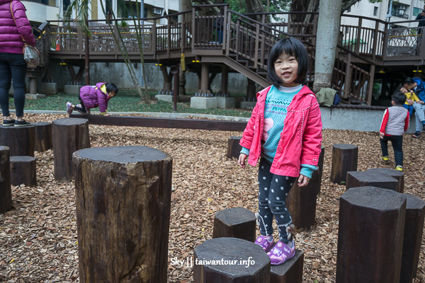 台北親子景點-天母湯姆森林遊戲場【東和公園】