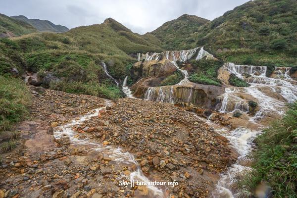 台北一日遊【地質野柳.十分瀑布和悲情九份】