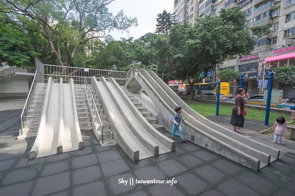 板橋親子景點-隱藏版6座滑道滑石子溜滑梯【介壽婚紗公園】