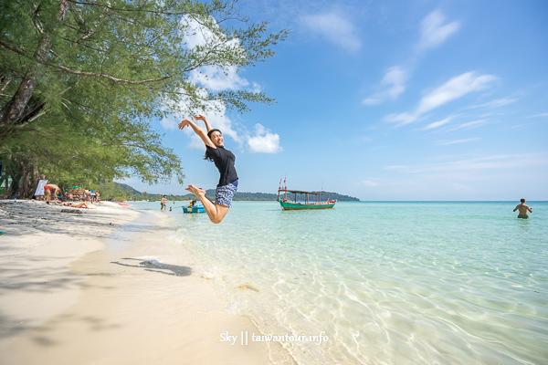 柬埔寨景點推薦-亞洲夏威夷【高龍島Koh Rong island】