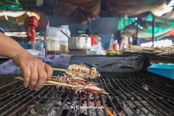 柬埔寨景點推薦-白馬市螃蟹海鮮市場【kep Beach Crab market】