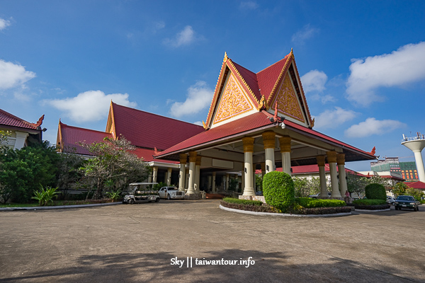 柬埔寨住宿推薦-西港私人白沙灘【Sokha Beach Resort聖卡海灘度假村】