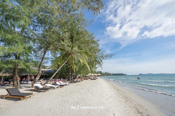 【柬埔寨深度.快樂船六天五夜】第四天:西港-Otres Beach(奧特斯海灘)