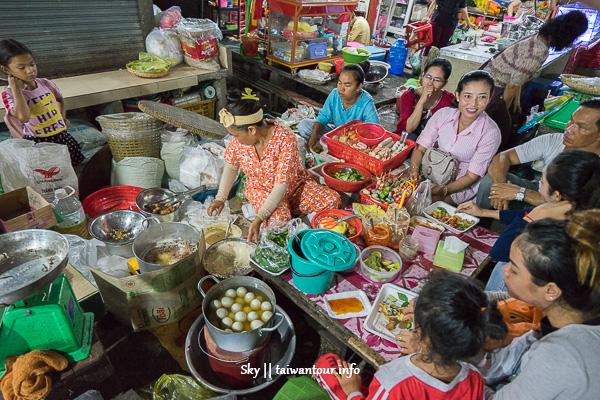柬埔寨景點推薦-西港最大傳統市場【Phsar Leu Marker】