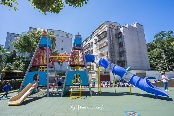 台北親子景點-內湖兩樓高火箭雙塔【康樂綠地】