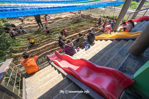 台北親子景點-南港玩沙.野餐.溜滑梯【山水綠生態公園】
