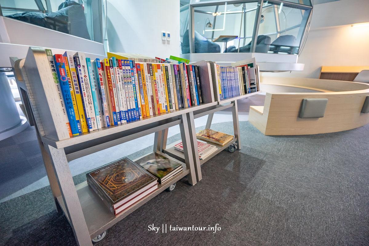 新北景點推薦【東勢閱覽室】林口最美星空圖書館