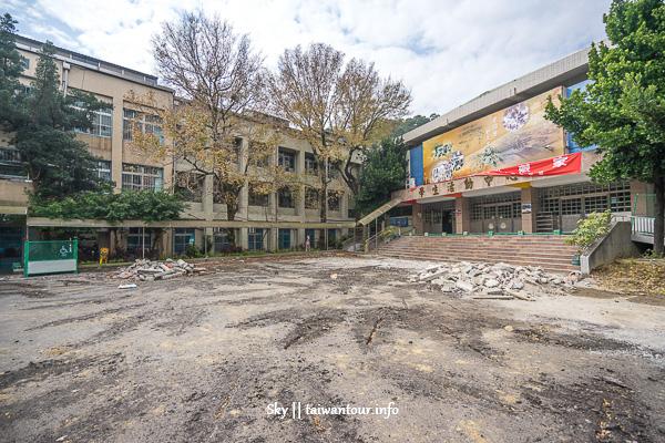 新北親子景點-泰山特色溜滑梯小學【泰山國小】
